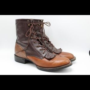 Ariat Two Tone Leather Boots